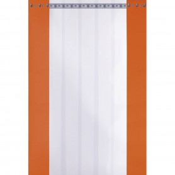 Rideau fixe à lanières pour chambre froide négative - 1090x1980 mm - EFRMOD