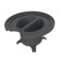 TABLE INOX CENTRALE AVEC ETAGERE 1800*700*900mm TOURNUS