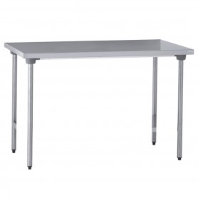 TABLE INOX CENTRALE 1200*700*900mm TOURNUS