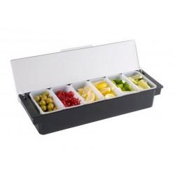 Friteuse électrique à poser avec robinet - Capacité 6 L