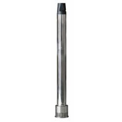 Plancha semi-pro - inox 18/8 électrique ECOEM60PV - 4 kW - 600x440x210 mm - surface utile 590x390 mm