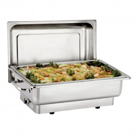 Chafing dish pour bac GN1/1 - Couvercle amovible - 510x540x480 mm