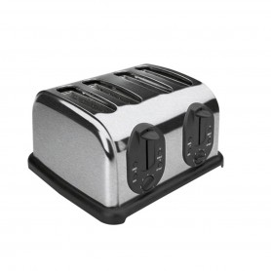 Grille pain - Pour 4 tranches - 1,75 kW 230 V mono - 380x340x230 mm