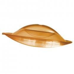 Réchaud traiteur - 2 feux (5 et 7 kW) - Inox - 12 kW - Gaz - 670x510x180 mm