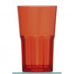 Plateau individuel TS60 avec vaisselle - Combi complet - Gris et orange avec vaisselle - 530x370x105 mm