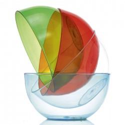 Conteneur Gris/bleu - Conteneur QC20 - Conteneur QC20 - 19 L - Extérieur 295x465x460 mm