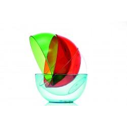 Conteneur Gris/bleu - Conteneur QC10 - Conteneur QC10 - 10 L - Extérieur 430x240x430 mm