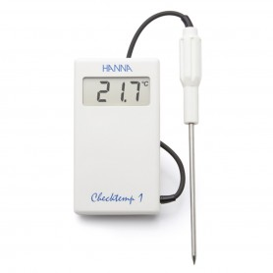 Thermomètres de précision à sonde - Étendue de -50 à +150°C - Checktemp 1 étanche.