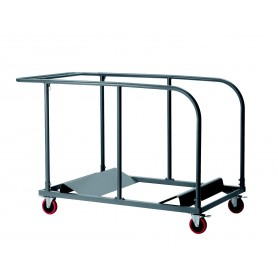 CHARIOT POUR TABLES RONDES HDPE