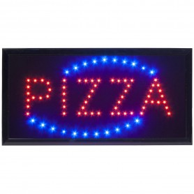 ENSEIGNE LED PIZZA