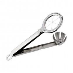 Porte-menus inox - Métallisé gris - à affichage LED - 72x68 cm - 6 formats A4