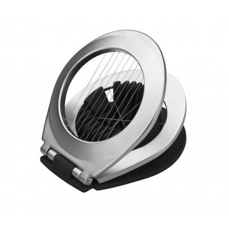 Porte-menus inox - Métallisé gris - à affichage LED - 72x40 cm - 3 formats A4