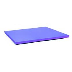 Ardoise murale rectangulaire Woody - 60 x 80 cm - noir