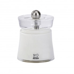 Bali - 8 cm - Moulin à sel sec Blanc