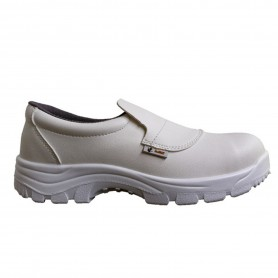 MOCASSINS DE SECURITE BLANC T47