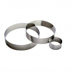 CERCLE A MOUSSE INOX D. 8*4.5cm