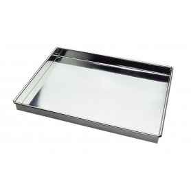 CAISSE A GENOISE INOX 30*40*3.5cm