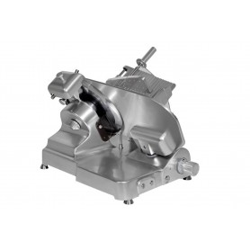 Trancheur à courroie Nisida 350 -Capacité cpe 320x265 mm - Ep.0 à 15 mm  - 500/700 couverts