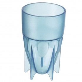 VERRE 5 PIEDS 16 CL COPOLYESTER BLE