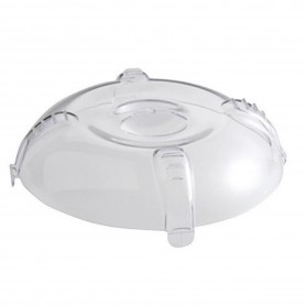 CLOCHE TRANSPARENTE P/ASSIETTE D23.