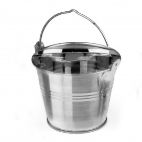 GALVANISED PRESENTATION BUCKET 7x5x