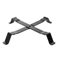 12 ASSIETTE PLATE BOURRELET N°10 BLANCHE ø13.6 cm - SARREGUEMINES
