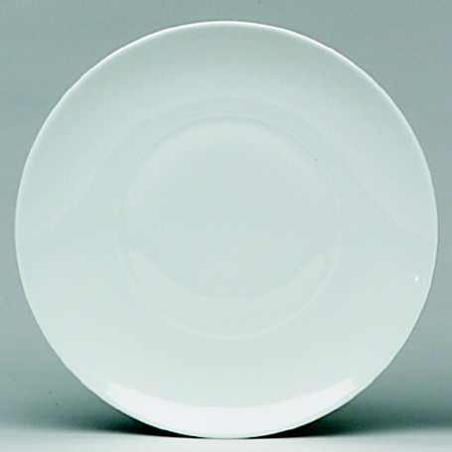 12 ASSIETTES PLATES N°9 ø16cm - GALICE BLANC - SARREGUEMINES