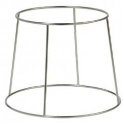 Cornet à frites - 17,5 x 15 cm - acier noir