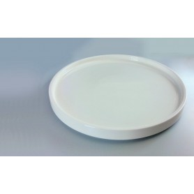 4 Assiettes plates Lounge ø 20 cm - Empilable