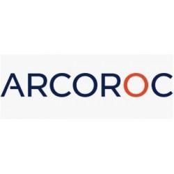 12 Assiettes verre trempé blanc 2 compartiments Diam. 23 cm REGITERMIE ARCOROC