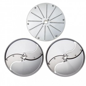 Accessoires - Pack bistrot 3 disques inox (C2 C5 J2)