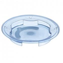Masque non tissé bleu - 3 plis - polypropylène et barrette nasale boîte de 50
