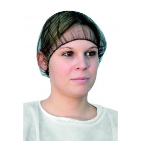 Filet cheveux - marron - nylon - sachet de 100