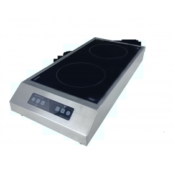 Plaque de cuisson induction double foyer posable GLN2 3500F