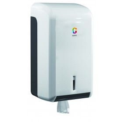 "Distributeur bobine ""mini"" - Dévidage central ABS - 145x136x275 mm - bobine 130 mm"