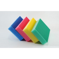 Éponge color clean - Jaune LOT DE 4