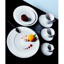 Verrines, mignardises Cristal - Hexagone - 4,6x4,6 cm - 5,5 cl - Vert d'eau