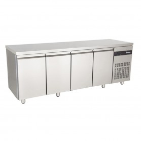 MEUBLE REFRIGERE CENTRAL 4 PORTES GN1/1 - INOMAK