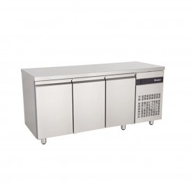 MEUBLE REFRIGEREE CENTRAL 3 PORTES GN1/1 - 425 L - INOMAK